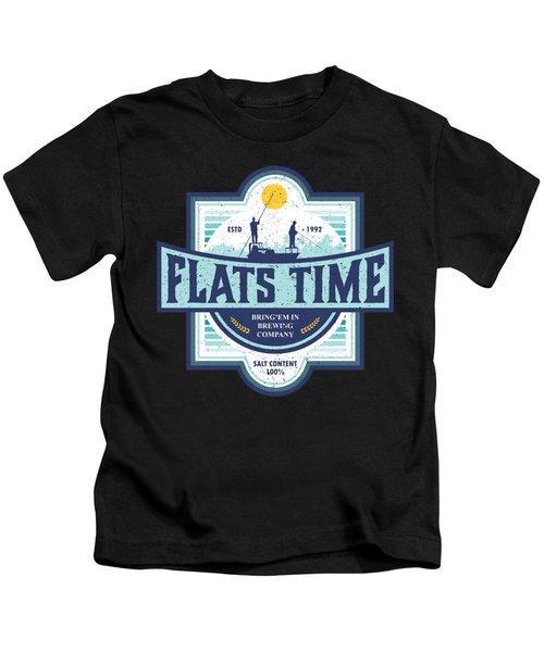 Flats Time Kids T-Shirt