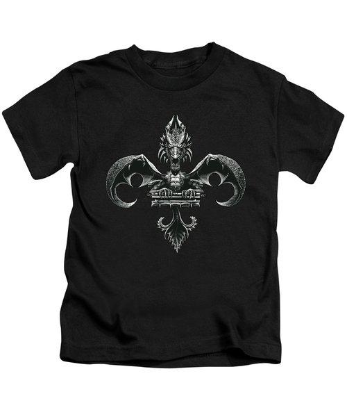 Fleur D Lis Kids T-Shirt