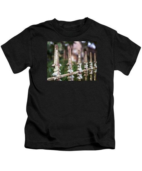 Fleur De Lis Finial Kids T-Shirt