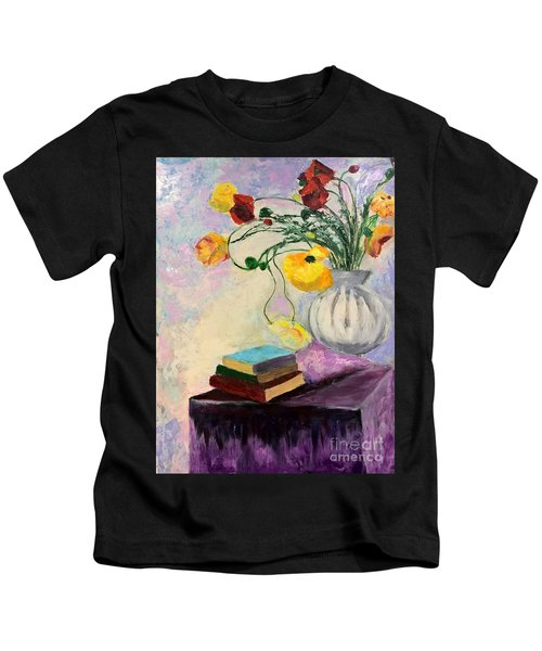 Floral Abstract Kids T-Shirt