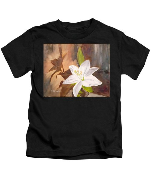 Floral-still Life Kids T-Shirt