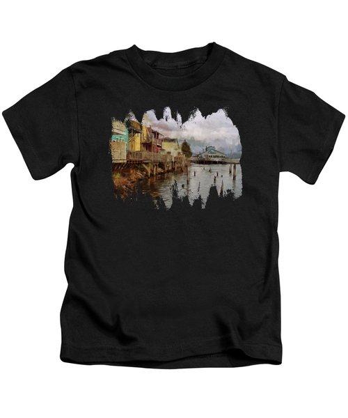 Scene On The Siuslaw  Kids T-Shirt