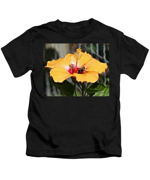Flower Bee Kids T-Shirt
