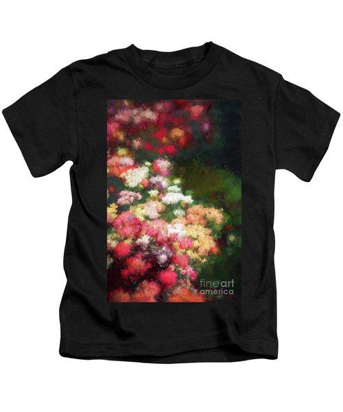 Flower Border Kids T-Shirt