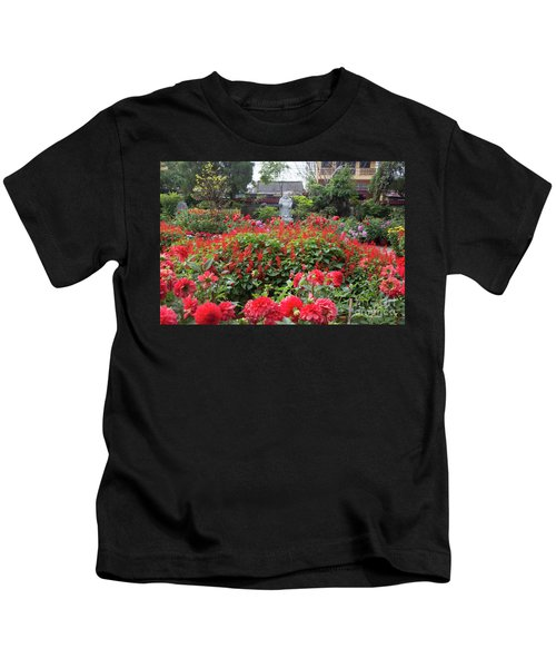 Flower Garden Hoi An Vietnam Kids T-Shirt