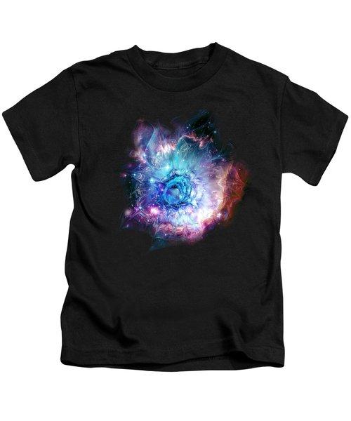 Flower Nebula Kids T-Shirt