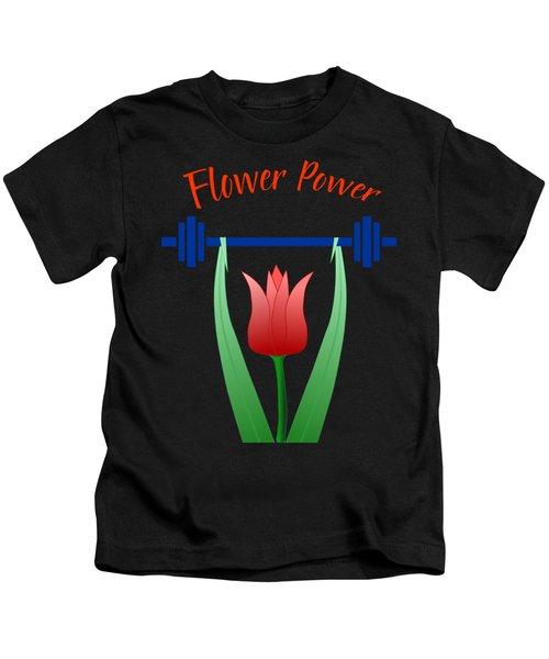 Flower Power Kids T-Shirt