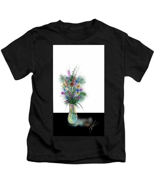 Flower Study One Kids T-Shirt