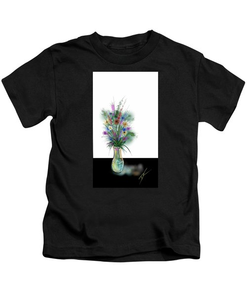 Flower Study One Kids T-Shirt