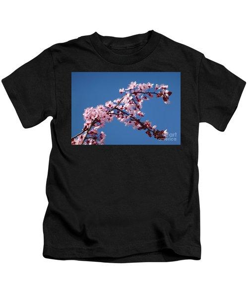 Flowering Of The Plum Tree 4 Kids T-Shirt