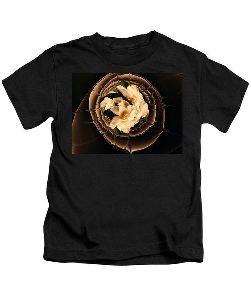 Flowers And Chocolate Kids T-Shirt