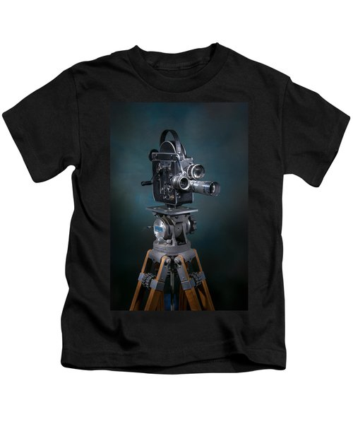 Focus In Blue Kids T-Shirt