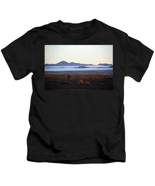 Fog In The Peloncillo Mountains Kids T-Shirt