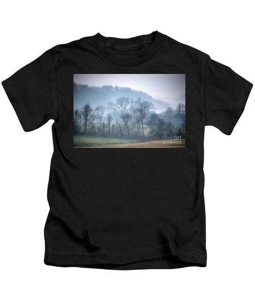 Foggy Hills Kids T-Shirt