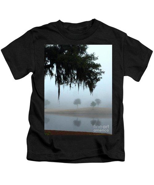 Foggy Morn Reflections Kids T-Shirt