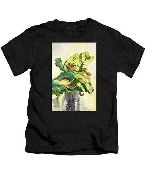 Foliage In Vase Kids T-Shirt