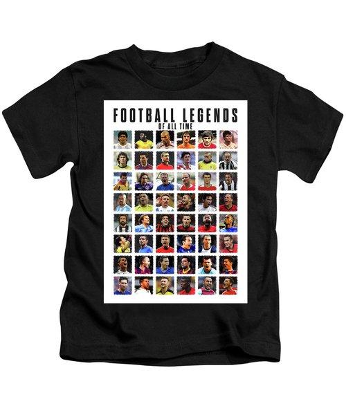 Football Legends Kids T-Shirt