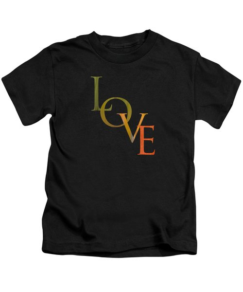 Forest Illusions- Love Kids T-Shirt