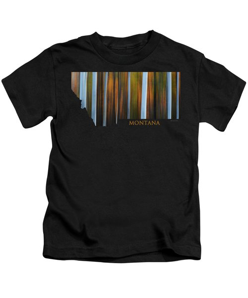 Forest Illusions-montana Kids T-Shirt