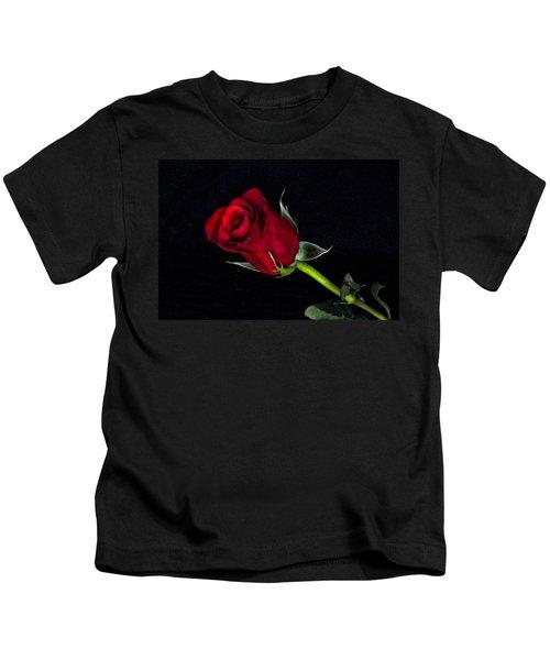 Forever Lasting Rose  Kids T-Shirt