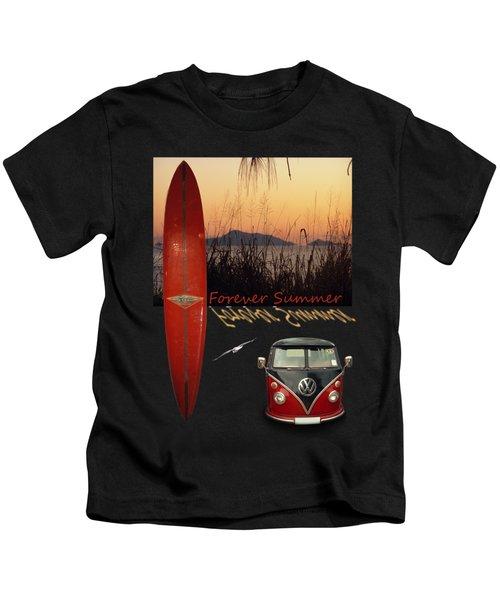 Forever Summer 1 Kids T-Shirt