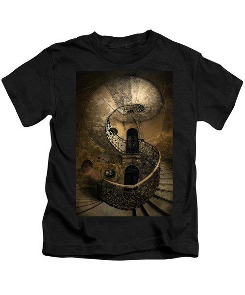 Forgotten Staircase Kids T-Shirt