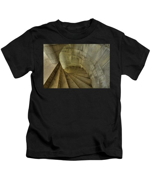 Fort Popham Stairwell Kids T-Shirt