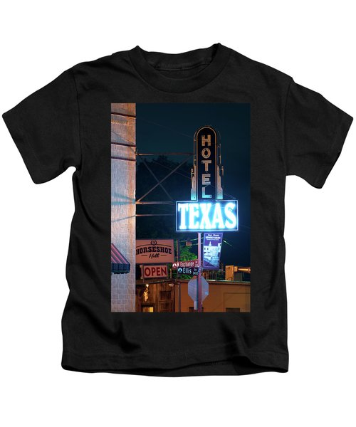 Fort Worth Hotel Texas 6616 Kids T-Shirt