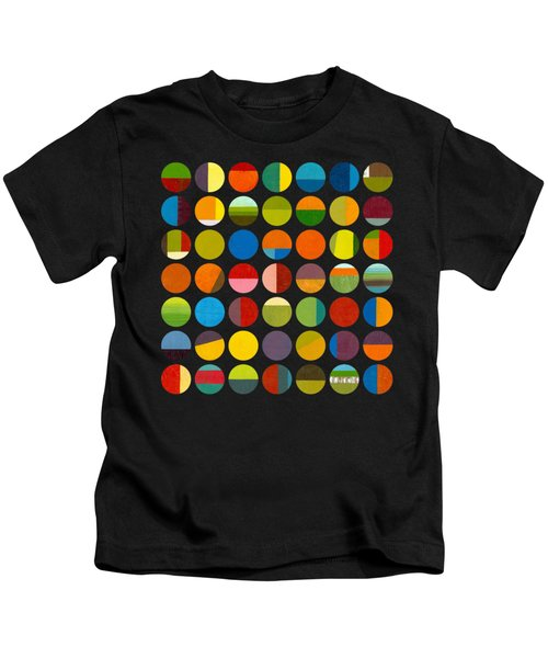 Forty Nine Circles Kids T-Shirt