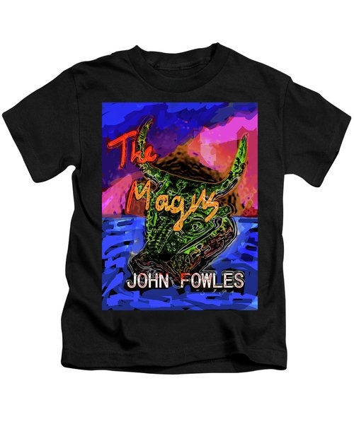 Fowles Magus Poster  Kids T-Shirt