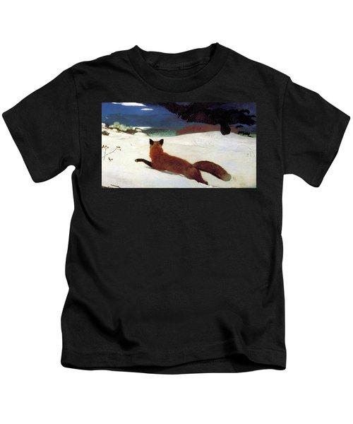 Fox Hunt Kids T-Shirt