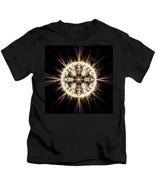 Fractal Jewel Kids T-Shirt