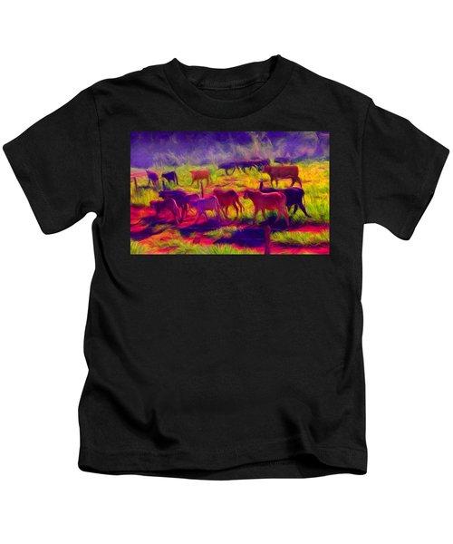 Franca Cattle 1 Kids T-Shirt