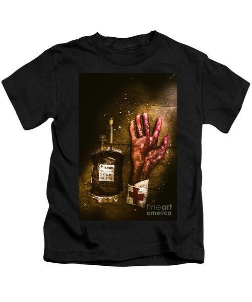 Frankenstein Transplant Experiment Kids T-Shirt