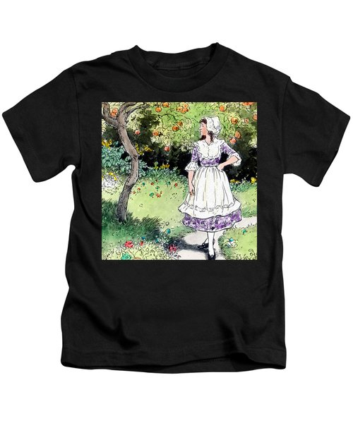 Frau Holle Also Known As Mother Holle Or Old Mother Frost Kids T-Shirt