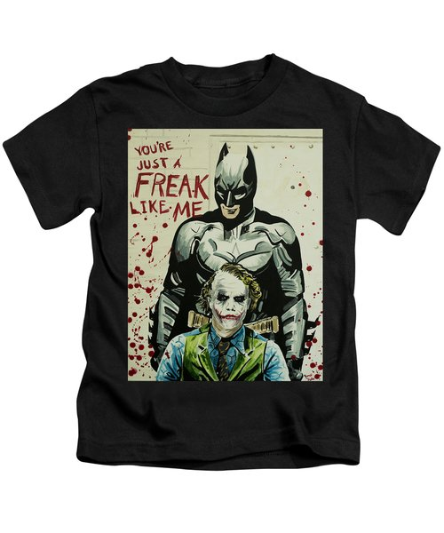 Freak Like Me Kids T-Shirt by James Holko