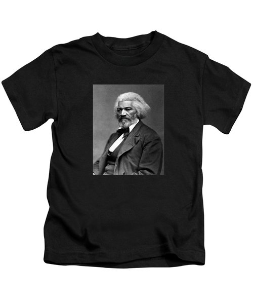 Frederick Douglass Photo Kids T-Shirt