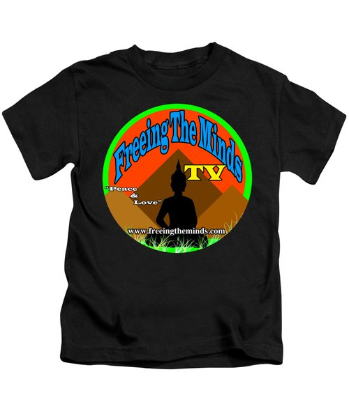 Freeing The Minds Supporter Kids T-Shirt