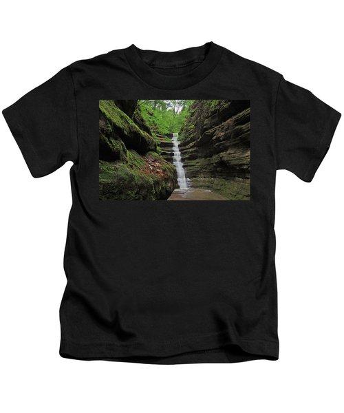 French Canyon Falls Kids T-Shirt