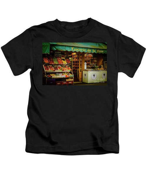 French Groceries Kids T-Shirt