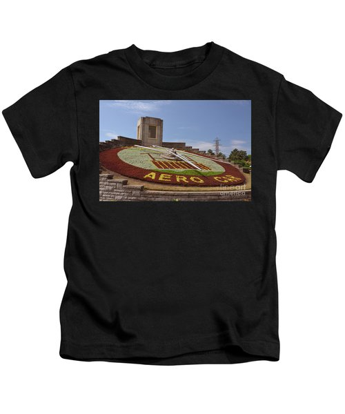 Fresh Flower Clock Kids T-Shirt