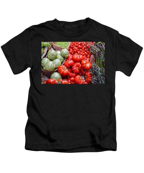 Fresh Vegetables Kids T-Shirt