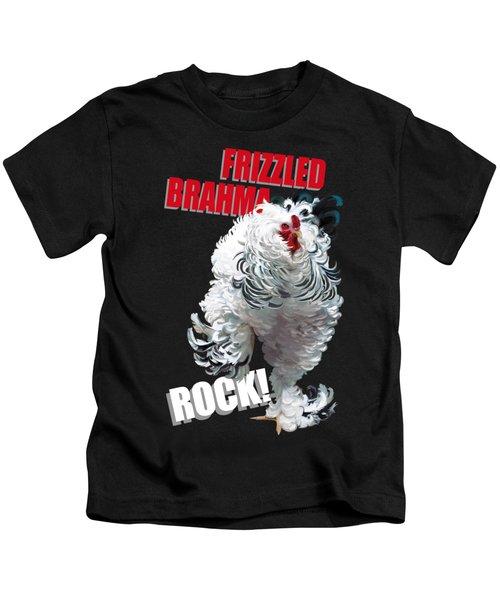 Frizzled Brahma T-shirt Print Kids T-Shirt