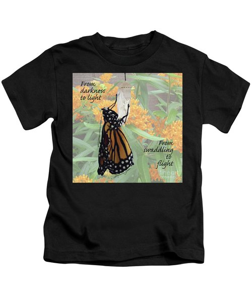 From Darkness To Light Kids T-Shirt