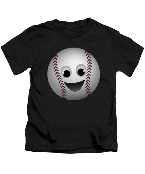 Fun Baseball Character Kids T-Shirt