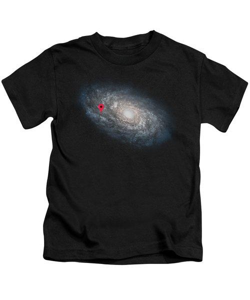 Funny Astronomy Universe  Nerd Geek Humor Kids T-Shirt
