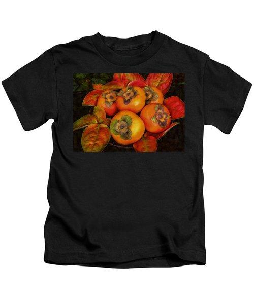 Fuyu Persimmons Kids T-Shirt