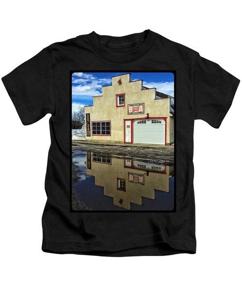 Garage Reflection Kids T-Shirt