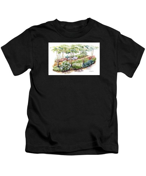 Garden, Dark Side Kids T-Shirt