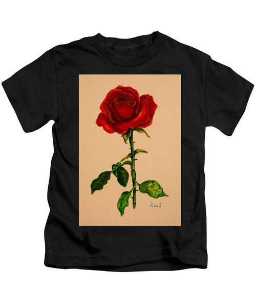 Garden Rose Kids T-Shirt